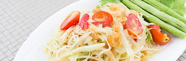 Entrées thaïlandaises au Prik Thaï - Paris 9ème